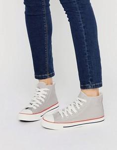 Высокие кроссовки New Look - Серый