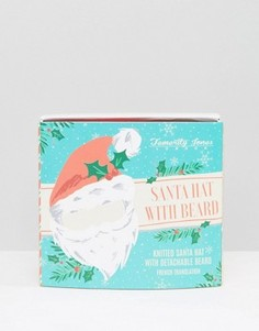 Вязаная шапка Санта-Клауса и борода - Мульти Temerity Jones