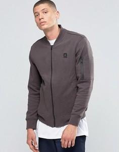 Серая стеганая куртка‑пилот Converse MA-1 10001149-A02 - Серый