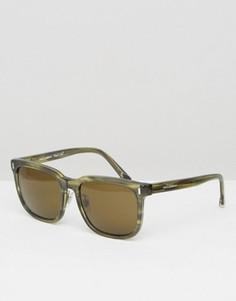 Квадратные солнцезащитные очки Dolce & Gabbana - Зеленый