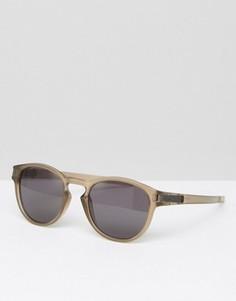 Солнцезащитные очки в круглой оправе Oakley - Коричневый