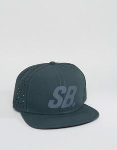 Кепка с отражающим логотипом Nike SB 804567-364 - Зеленый