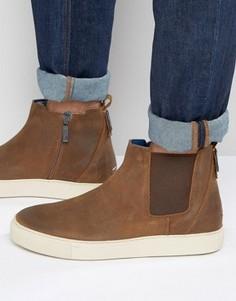 Ботинки челси Hilfiger Denim - Коричневый