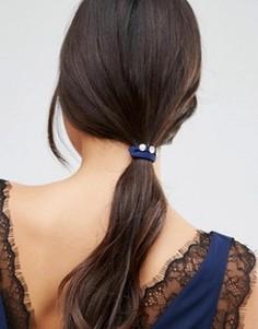 3 резинки для волос с камнями ASOS - Мульти