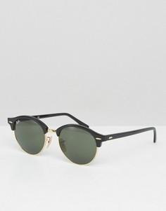 Круглые солнцезащитные очки Ray-Ban 0RB4246 - Черный