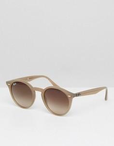 Круглые солнцезащитные очки Ray-Ban 0RB2180 - Коричневый