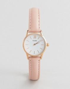 Часы с кожаным ремешком CLUSE La Vedette CL50010 - Розовый