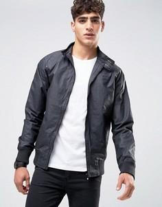 Вощеная куртка Харрингтон Firetrap - Черный