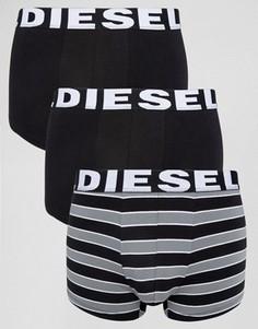 Набор из 3 боксеров-брифов в полоску Diesel - Мульти