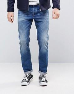 Темные узкие джинсы в стиле ретро ASOS - Синий
