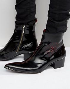 Ботинки на молнии Jeffery West Sylvian - Черный