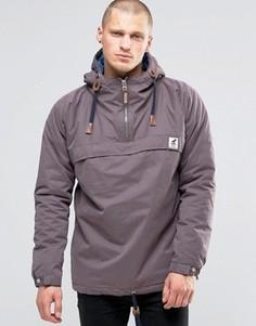 Куртка через голову со стеганой подкладкой Fat Moose Sailor - Коричневый