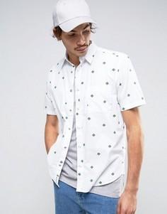 Рубашка с короткими рукавами Cheap Monday Air Cactai - Красный