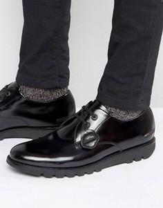 Кожаные туфли дерби Kickers Kymbo - Черный