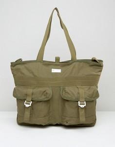Зеленая сумка-тоут adidas Originals AY8668 - Зеленый