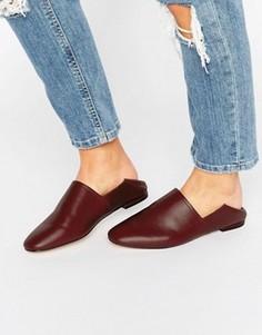 Кожаные туфли на плоской подошве ALDO - Красный