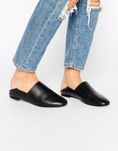 Кожаные туфли на плоской подошве ALDO - Черный
