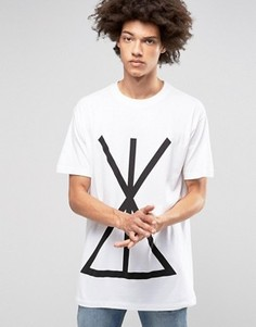 Oversize-футболка Long Clothing Union - Черный
