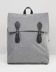 Серый рюкзак с контрастной отделкой ASOS - Серый
