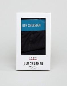 Подарочный набор с боксерами-брифами и носками Ben Sherman - Темно-синий