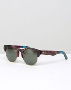 Солнцезащитные очки в стиле ретро Toms Charlie - Коричневый