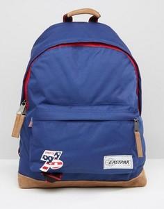 Синий рюкзак в винтажном стиле Eastpak Wyoming - Синий