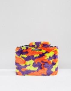 Сумка-клатч камуфляжной расцветки House of Holland - Мульти