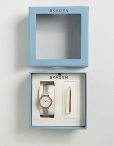Часы и браслет Skagen Ancher & Anette - Золотой