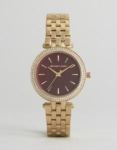 Золотистые часы Michael Kors Darci - Золотой