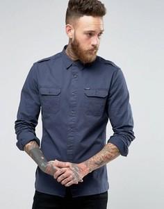 Рубашка в стиле милитари Firetrap - Темно-синий