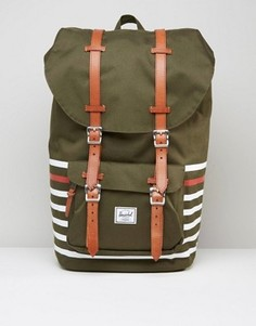 Рюкзак Herschel Supply Co Little America Offset 25L - Зеленый