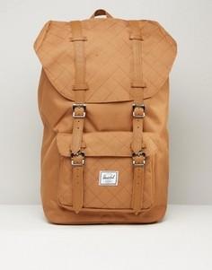 Стеганый рюкзак Herschel Supply Co Little America 25L - Коричневый