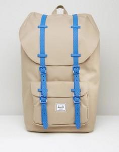 Бежевый рюкзак Herschel Supply Co Little America - 25 л - Бежевый