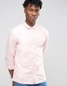 Бледно-розовая рубашка узкого кроя Waven - Розовый
