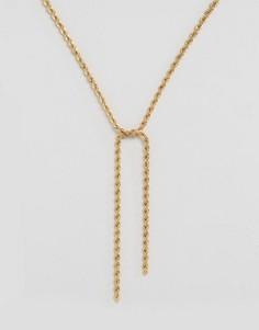 Цепочка-шнурок Missguided - Золотой