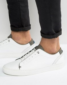 Замшевые кроссовки Ted Baker Kiing - Белый