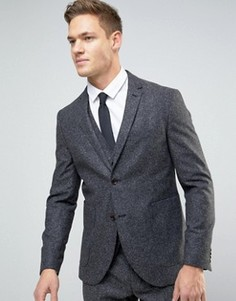 Блейзер слим в крапинку Jack & Jones Premium - Серый