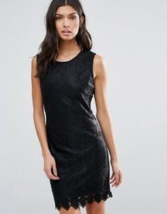 Кружевное облегающее платье Pussycat London - Черный