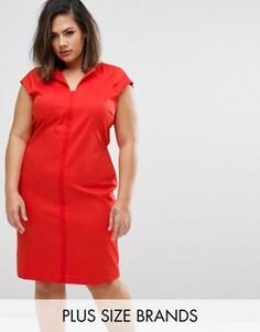 Платье Elvi Plus - Красный