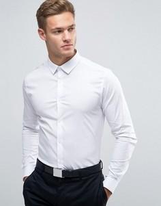 Белая рубашка скинни New Look - Белый