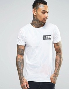 Футболка с принтом Heros Heroine - Белый