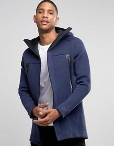 Синяя длинная куртка с отделкой Nike Tech 3M 805142-473 - Синий