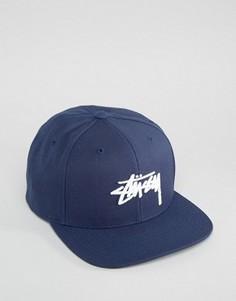 Бейсболка Stussy - Темно-синий