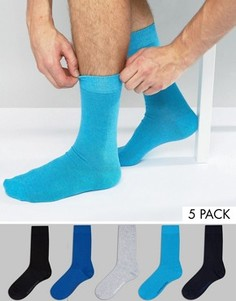 Комплект из 5 пар носков Bjorn Borg - Черный