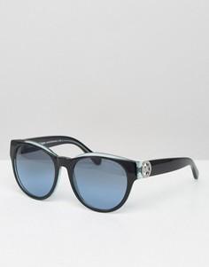Круглые солнцезащитные очки Michael Kors - Черный