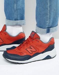 Красные кроссовки New Balance 580 MRT580XR - Красный