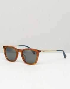 Квадратные солнцезащитные очки Toms Max - Коричневый