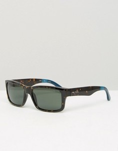 Квадратные солнцезащитные очки Toms Culver - Черный