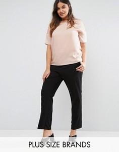Приталенные брюки Junarose - Черный