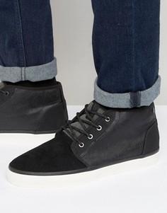 Утепленные кроссовки средней высоты Jack & Jones Major - Черный